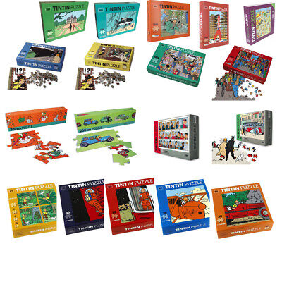 Tintin Puzzle Various Little and Big Seleziona Select Sélectionner