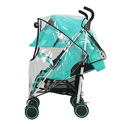 Universal Baby Pushchair Stroller Rain Cover Waterproof Wind Dust Shield Clear