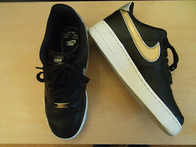 Details about Nike Air Force 1 High BHM QS Womens Trainers UK 5.5 EUR 39 Black 724356 505