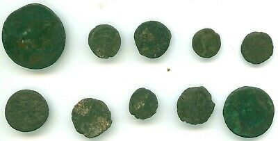 10 Ancient Coins Some Roman Coins Lot 30