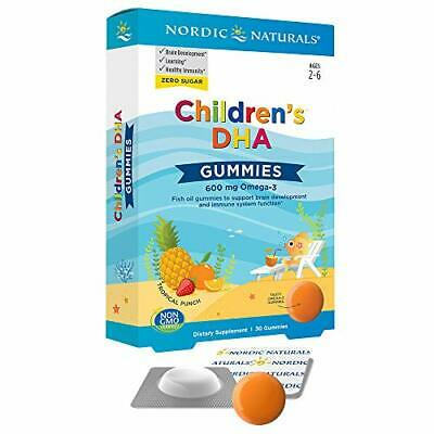 Nordic Naturals Children's DHA Gummies - Children's Omega-3 Fish Oil Supplement