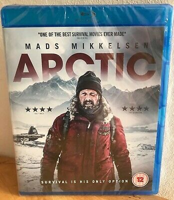 Arctic Blu-ray Mads Mikkelsen ACCLAIMED SURVIVAL THRILLER NEW SEALED RRP £19.99!