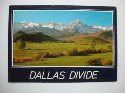 735) Ridgeway Colorado ~ Ranch Land Along The Dallas Divide ~ The San Juan Range