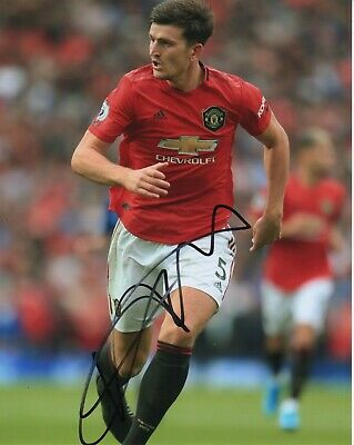 Manchester United Harry Maguire Autographed Signed 8x10 Photo COA #1
