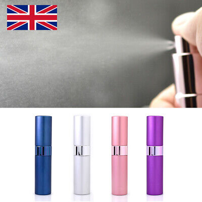 1PCE 15ML Portable Perfume Atomiser Bottle Aftershave Pump Trip Refillable Spray