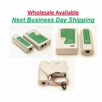 Network Lan Cable Tester Rj45 Rj-11 Cat5 Utp Ethernet Tool Cat5 6 E Rj11 wd