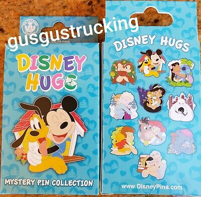 New Disney Parks 2 Pin Mystery Box (Disney Hugs) Factory Sealed