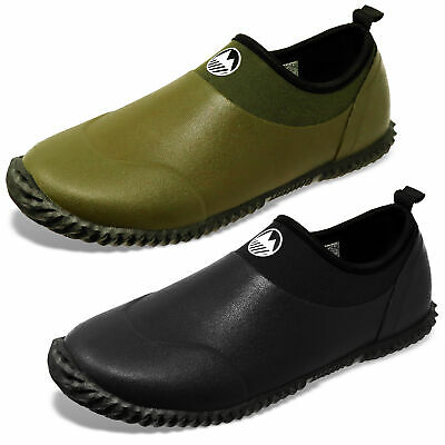 Lakeland Active Men's Waterproof Outdoor Slip On Muck Shoes Memory Foam Insole