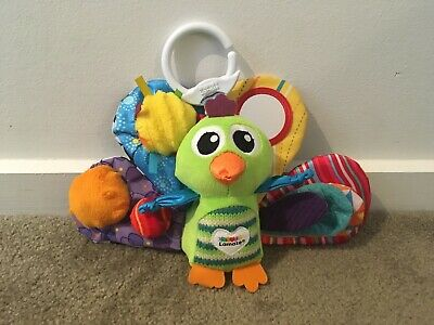 Lamaze L27013 Jacque the Peacock Clip and Go Toy