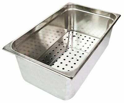 Bar Ice Well Sink with drainer plate