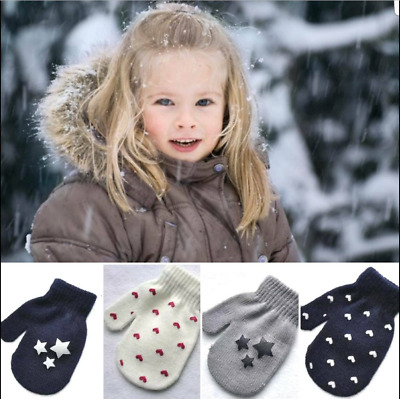 Babies kids gloves Mitts baby children Toddler Girls Boys winter warm Gift UK