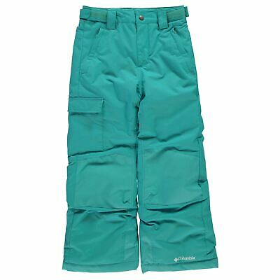 Columbia Bugaboo Ski Pants Youngster Girls Salopettes Trousers Bottoms Zip