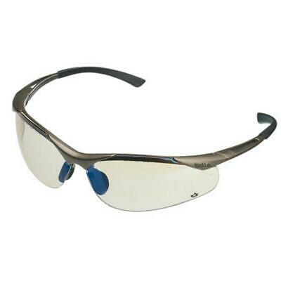 Bolle Contour Safety Glasses Clear, Smoke And Esp Uva Protection, Anti-Scratch