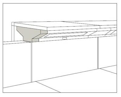 end cap counter top support for Herman Miller Ethospace
