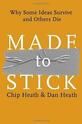 Made to Stick: Why Some Ideas Survive and Others Die by Chip and dan(ebook2007)