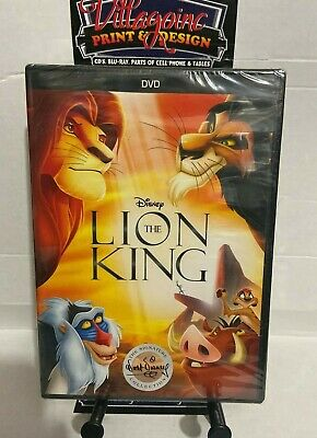 The Lion King (NEW DVD, 2017) FREE SHIPPING!!!