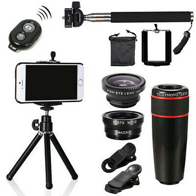 All in 1 Accessories Phone Camera Lens Travel Kit For Mobile Smart Cell Phone