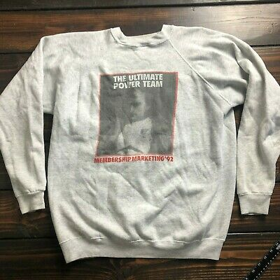 1992 Sam's Club Members Only Membership Marketing Sweatshirt Pullover Size 2XL