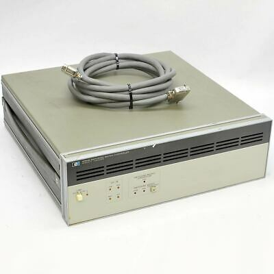 Hewlett Packard 4084B Switching Matrix Controller with Cable AS-IS Powers On