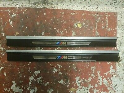 Bmw 3 Series E46 M Sport Convertible & Coupe Door Sill Kick Plates Trims (Pair)
