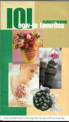 Florists' Review. 101 how to favourites. Professionals. Floristry Book.