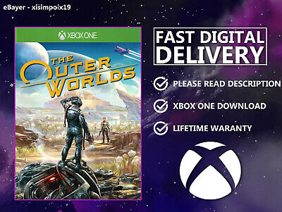 The Outer Worlds {XBOX ONE} DIGITAL DOWNLOAD 🎮 READ DESCRIPTION PLEASE