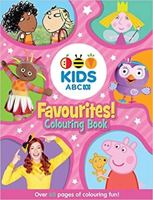 ABC KIDS Favourites! Colouring Book - by ABC - Paperback
