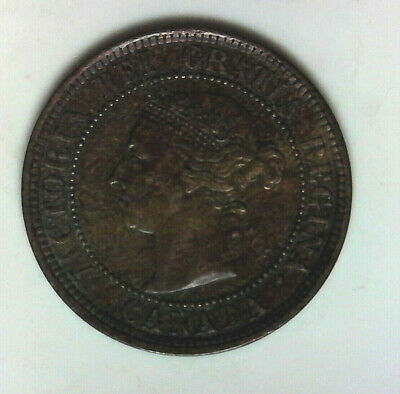 Higher grade 1888 Canada Lg Cent nice collector grade world coin