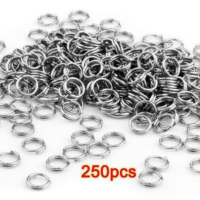 700pcs 1.0x8mm Silver Plated //1.2x8mm Gold Plated Opened Jump Rings R10 R11