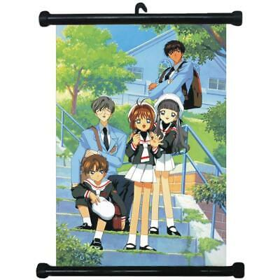 Japan Anime CARD CAPTOR SAKURA Wall Scroll Poster 1546