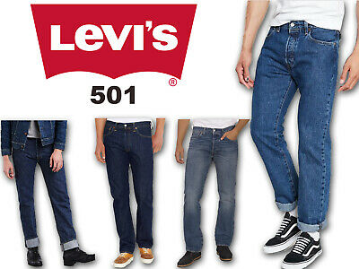 Levis 501 Jeans For Men Slim Fit Grade B Denim Pants Trousers Bottom