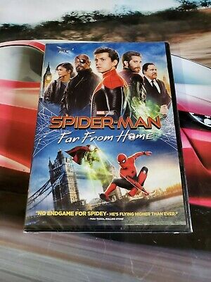 Spider-Man: Far From Home (DVD, 2019)