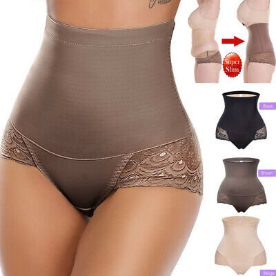 Lady High Waist Trainer Body Shaper Butt Lifter Tummy Control Panties Underwears
