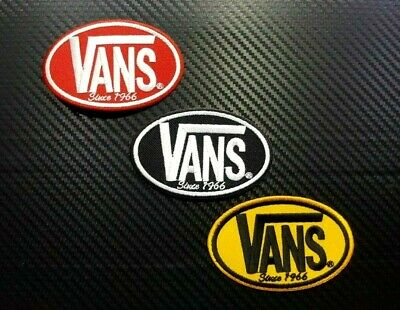 VANS OFF THE WALL SKATEBOARD SPORTS EXTREME Embroidered Iron Sew On Patch Logo T