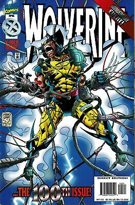 Wolverine Anniverary Event 100th issue 1995