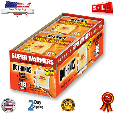 Hand and Body Warmer Super HotHands Warmers Hot 18 Hours Heat ( 40 Count Pack )