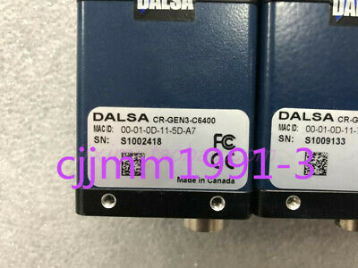 1PC used DALSA CR-GEN3-C6400 black and white industrial camera in good condition