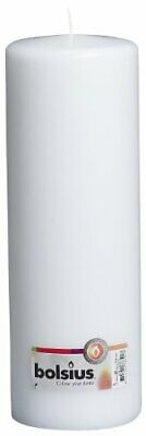 Bolsius Pillar Candle Extra Large, 'White 100 mm Width'