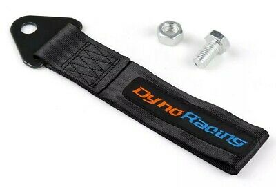 Racing Tow Strap Rally Race Drift Towing Car Track Tuning Screw Fixed Black