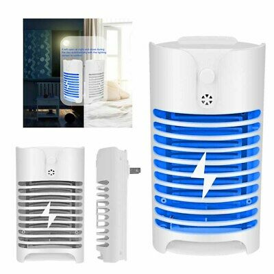 Electric UV Insect Killer Mosquito Fly Pest Bug Zapper Catcher Trap LED Lamps