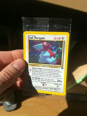 Carta Pokémon Card • Cool Porygon Promo Black Star • SEALED