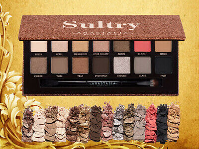Anastasia Beverly Hills Sultry 14 Colours Shades Eye Shadow Make Up Palette
