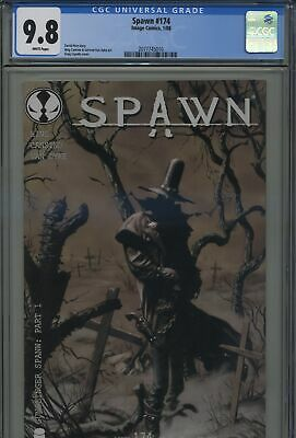Spawn 174 First Gunslinger Spawn CGC 9.8 White Pages