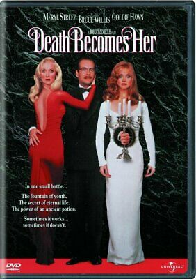 DEATH BECOMES HER New Sealed DVD Meryl Streep