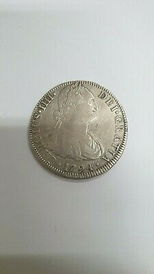 Mexico Coin 8 Reales 1794 Charles IV - REF47186