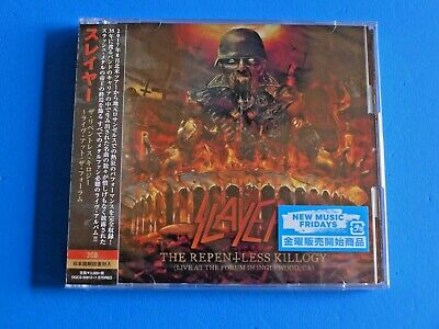 2019 Japan 2 Cd Set Slayer The Repentless Killogy Live At The Forum In Inglewood