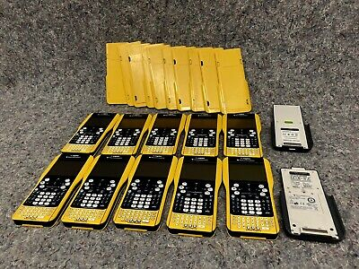 *Lot of 10*  Texas Instruments TI-Nspire Graphing Calculator School VERY CLEAN!