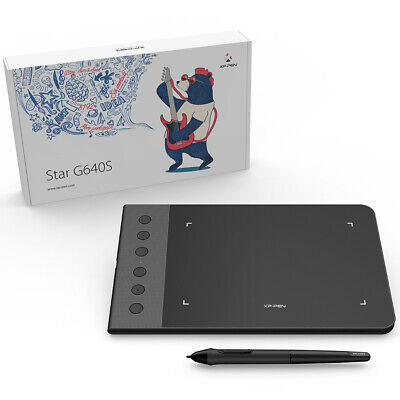 "XP-PEN G640S 6x4"" Graphics Drawing Tablet for OSU! Art Drawing 8192 Pressure"
