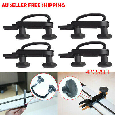 4X Stainless Steel Universal Roof Box Car Van Mounting Fitting Kit U-Bolts Clamp