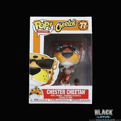 Funko Pop! Chester Cheetah Cheetos Ad Icons IN STOCK Pop 77